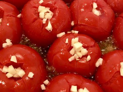 Rezept Pasta mit Sugo – Tomaten im Topf