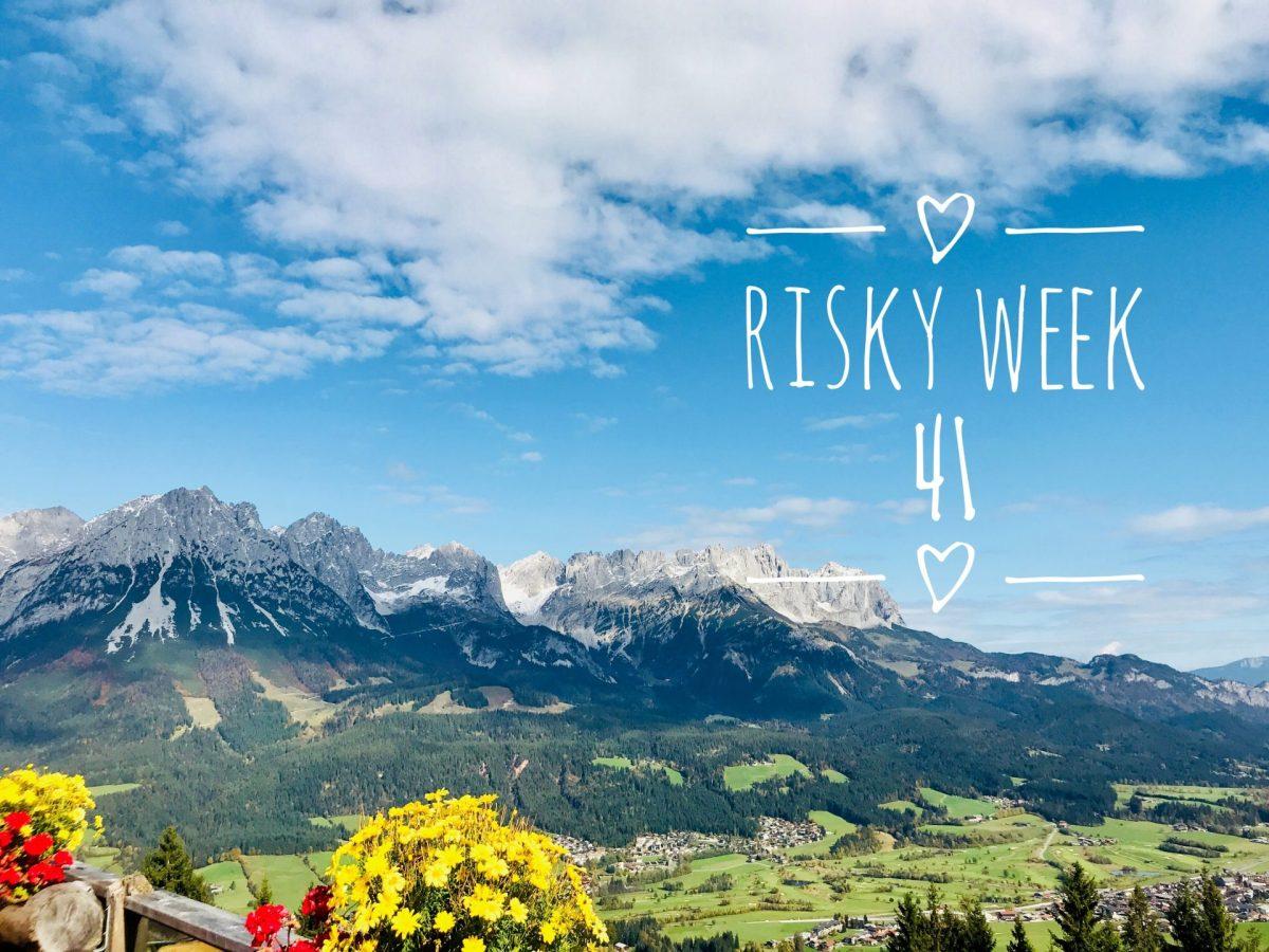 Risky Week 41 – RiskyMum und der Wilde Kaiser