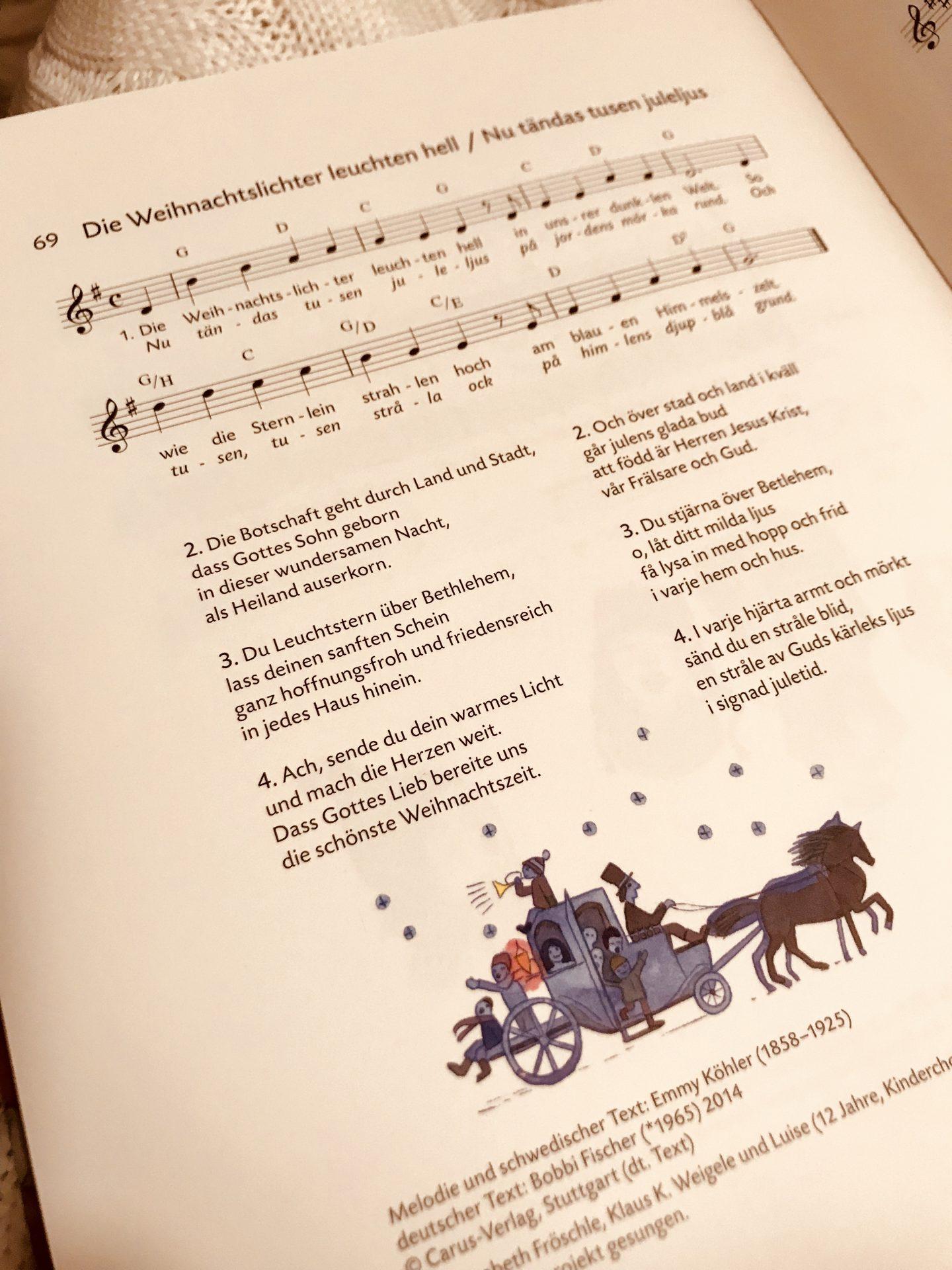 Risky Week 50 – Noten eines schwedischen Weihnachtslieds