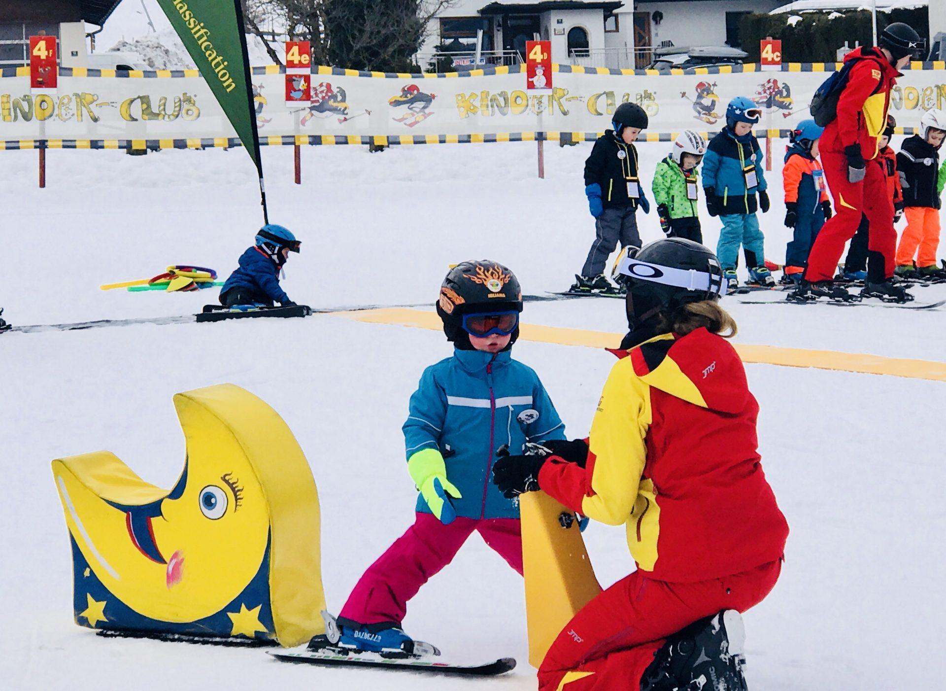 Skifahren lernen für Kinder – so kann's gelingen