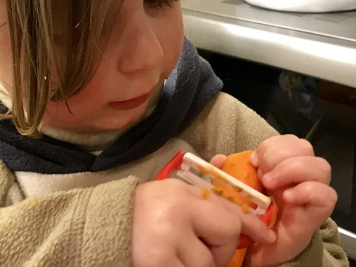 Risky Week 07 – Merlin probiert einen Schüler an einer Karotte aus