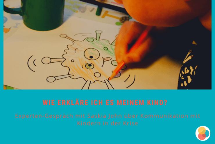 Kommunikation mit Kindern – ein Spezialgebiet von Saskia John