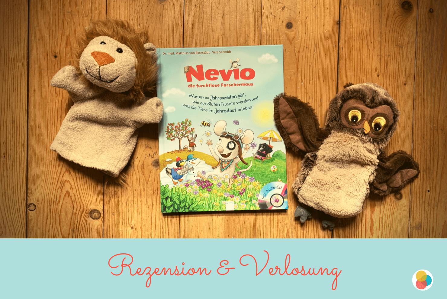 Kinderbuch Nevio die furchtlose Forschermaus