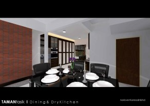 After Dining to Kitchen