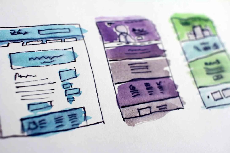 drafting webpage layout
