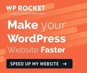 WP Rocket - Make your WordPress Website Faster
