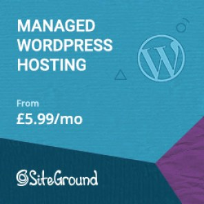 Wordpress hosting package from Sightground