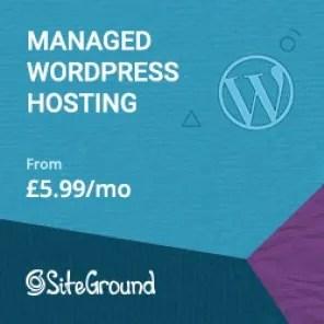 Website Hosting Siteground