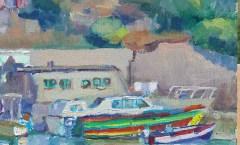 Boats at Graiguenamanagh