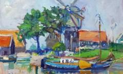 The Molen De Hoop at Harderwijk