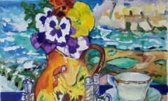 Pansies in Gozo