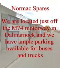 Normac Spares Parking in Dalmarnock