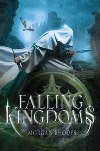 """Falling Kingdoms"" by Morgan Rhodes"