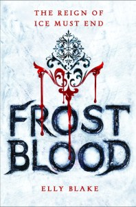 frostblood by elly blake book cover
