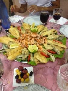vis eten Marokko