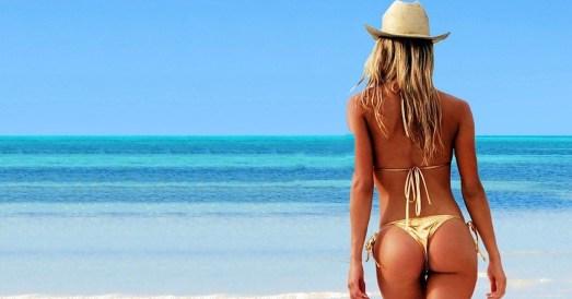 beach girl Cancun