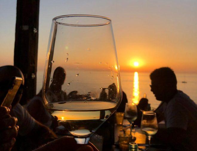 sunset drinks ibiza