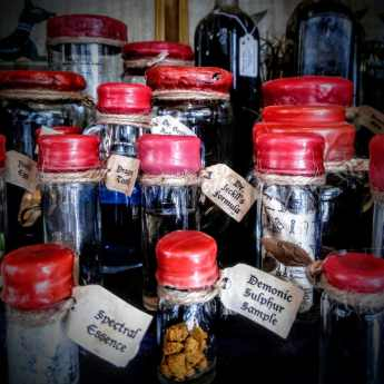Store cupboard essentials for the discerning alchemist in the Cat & Cauldron