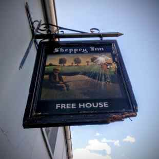 Sheppey Inn, Godney, near Glastonbury by Vicki Steward