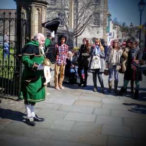 Glastonbury's Rather Magnificent Town Crier