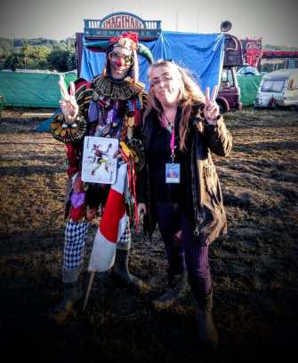 Rumpel Glastonbury Festival