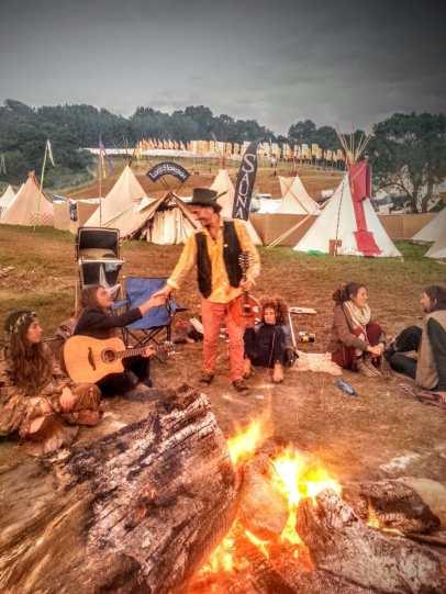 Tipi Field Glastonbury Festival 2014