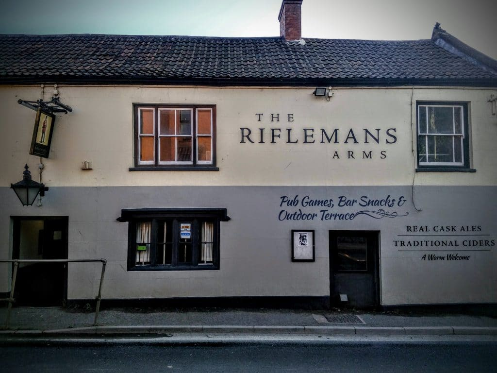 The Rifleman's Arms – A Proper Glastonbury Pub