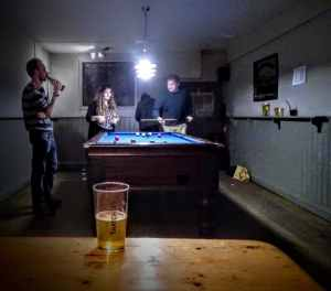 The Pool Room at the Rifleman's Arms, Glastonbury