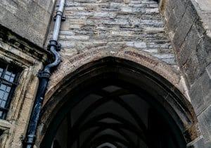 Glastonbury Abbey Gatehouse