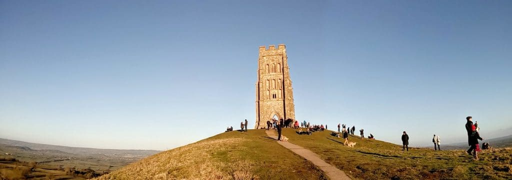 Glastonbury Tor Tower Spring 2017