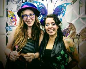Real fairies at the Faery Ball in Glastonbury
