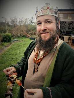 King Dan does kebabs
