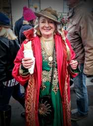 Former Mayor Denise, Queen of the Frost Fayre