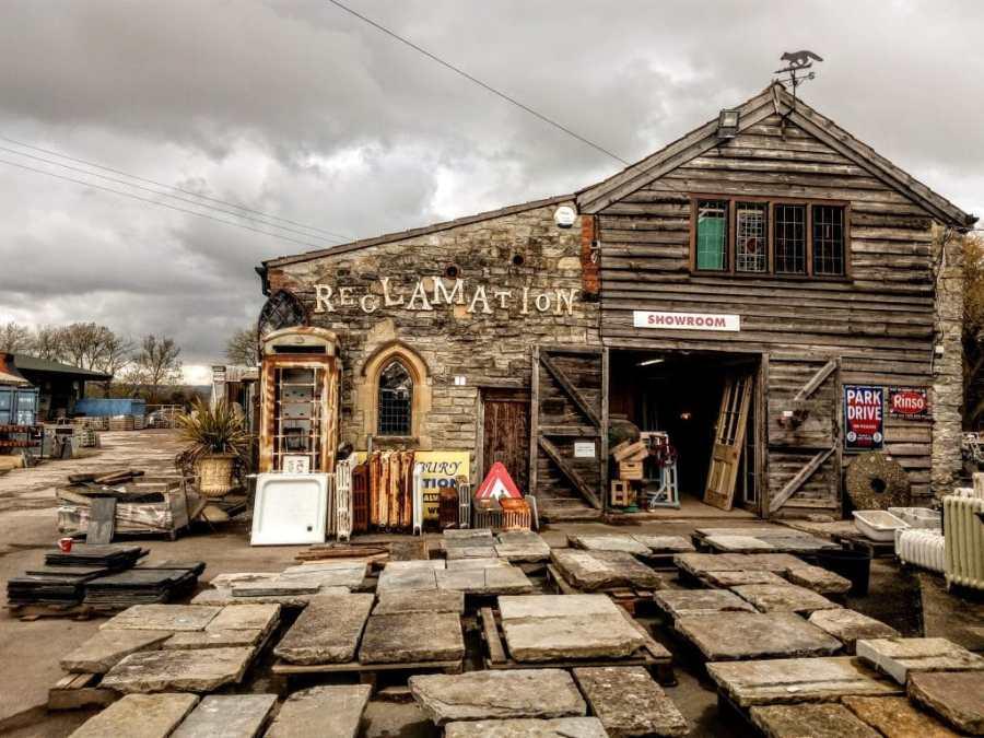 Glastonbury Reclamation Yard