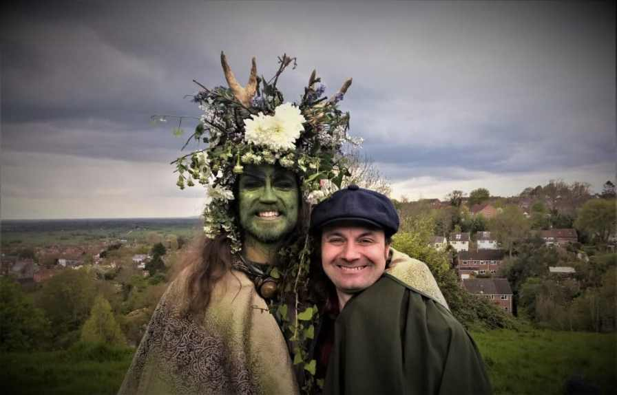 May Day in Glastonbury Town 2018. Photo by Vicki Steward for Normal For Glastonbury www.normalforglastonbury.uk