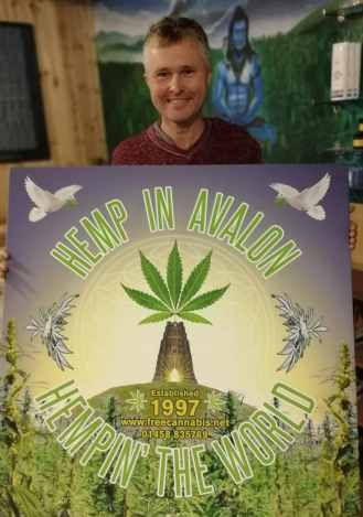 Free Cannabis in Hemp In Avalon in Glastonbury