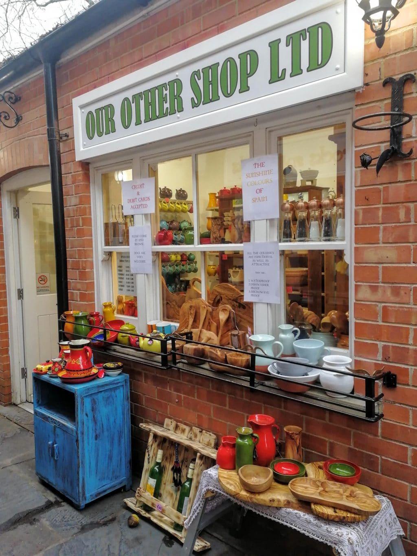 Steve and Jan's Shop Glastonbury Town
