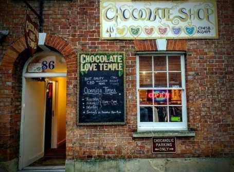The Chocolate Love Temple Christmas Glastonbury 2018