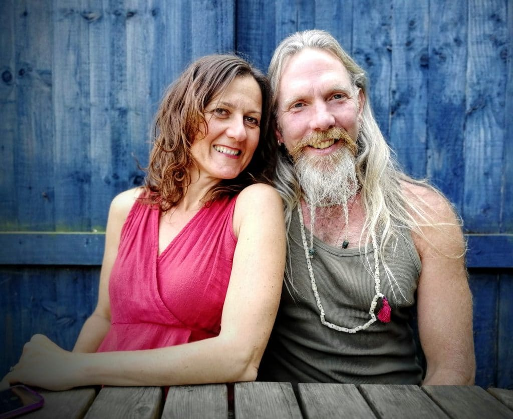 Andrew and Francesca of Pure Yoga South West