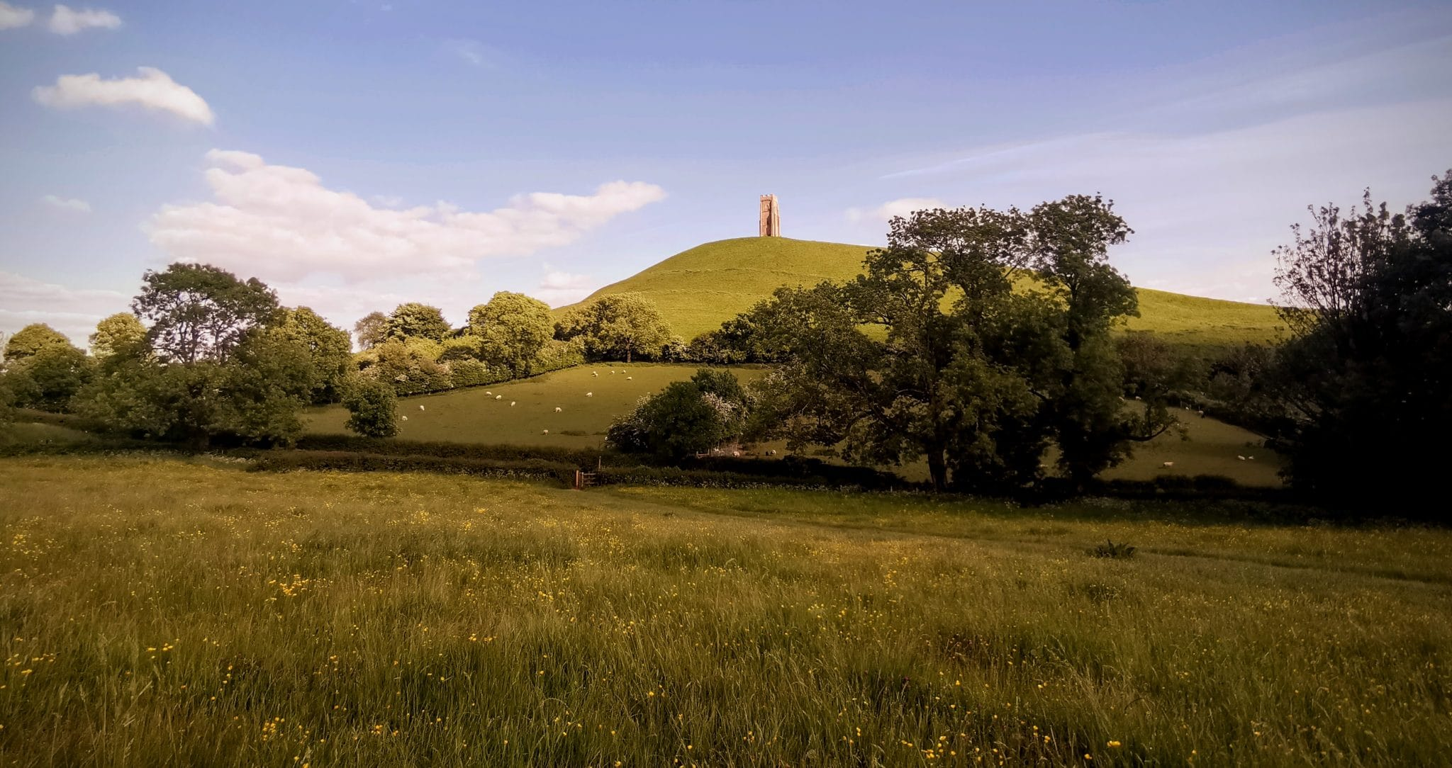 Glastonbury Tor May 2020 Lockdown