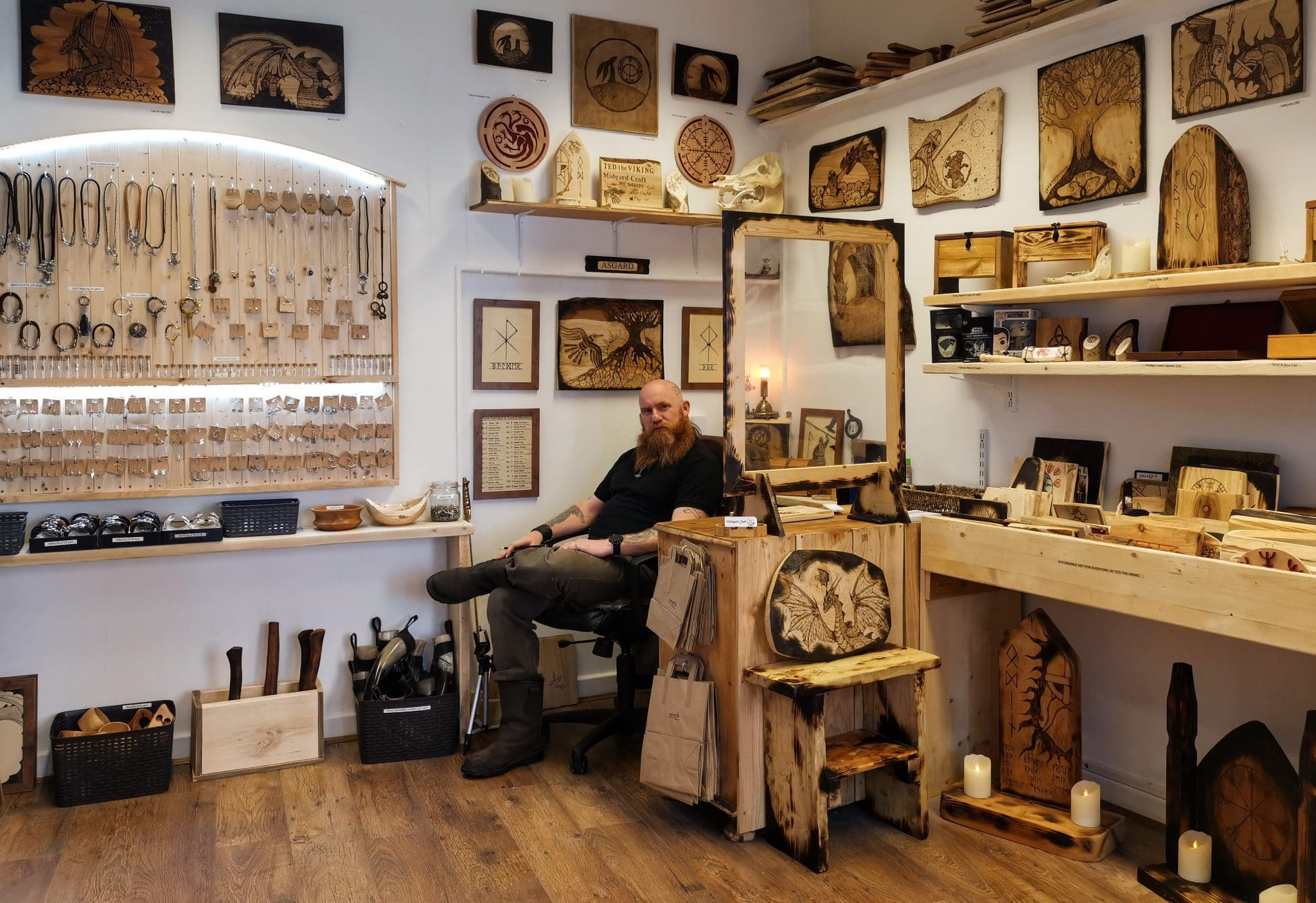 Midgard Craft Shop in Glastonbury