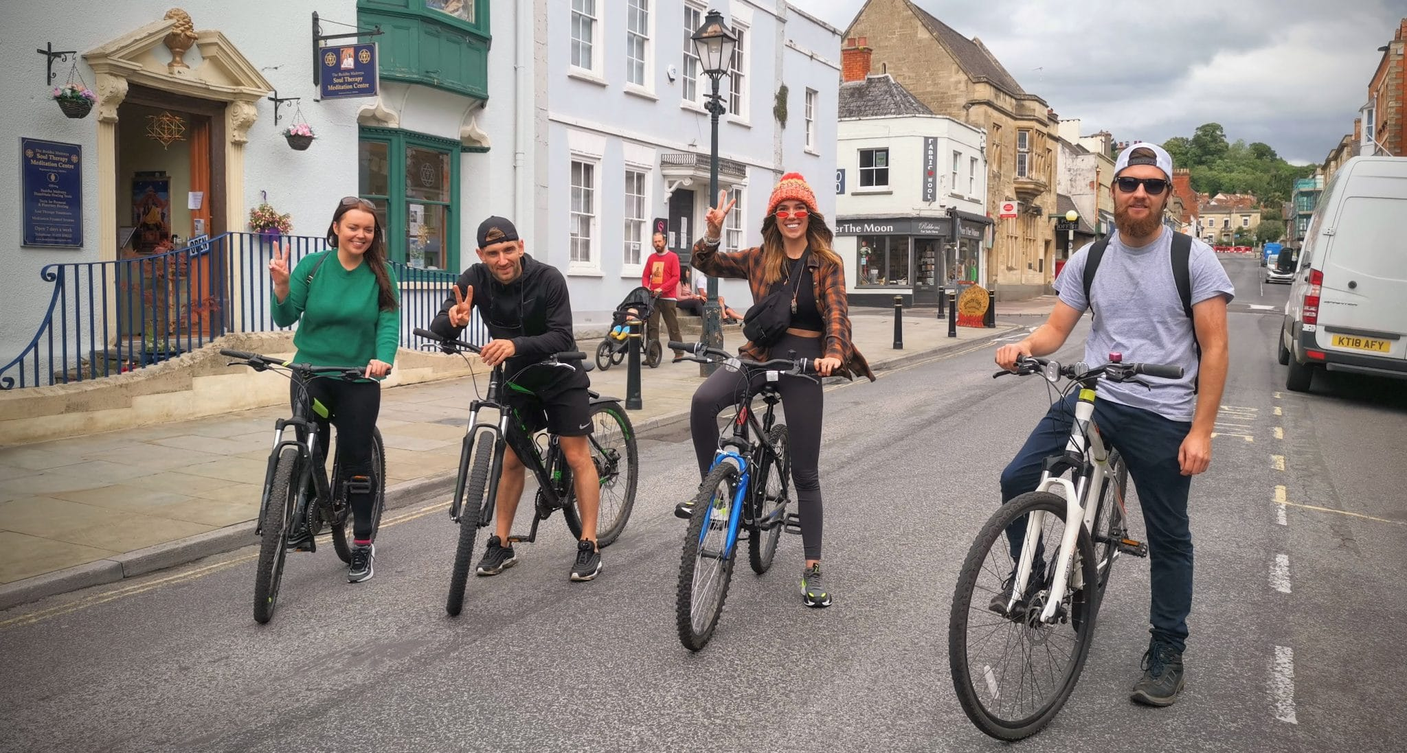 Glastonbury Town by Bicycle