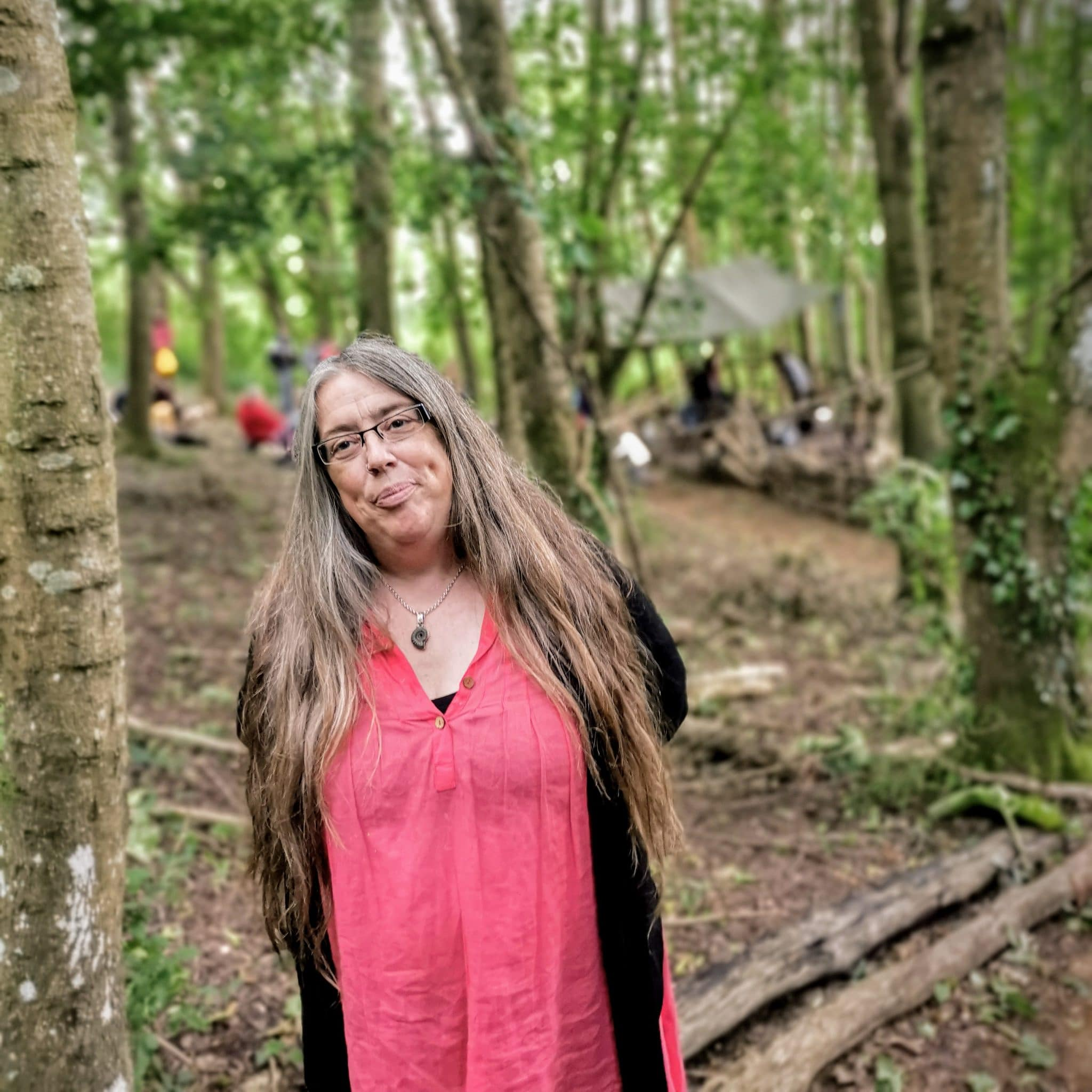 Vicki Steward at Hallr Woods