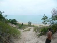Lake Michigan, Indiana Dunes.