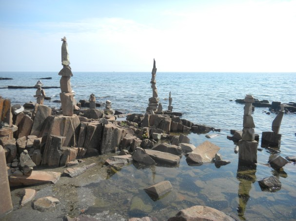 Artist's Point on Lake Superior is fun for all ages.