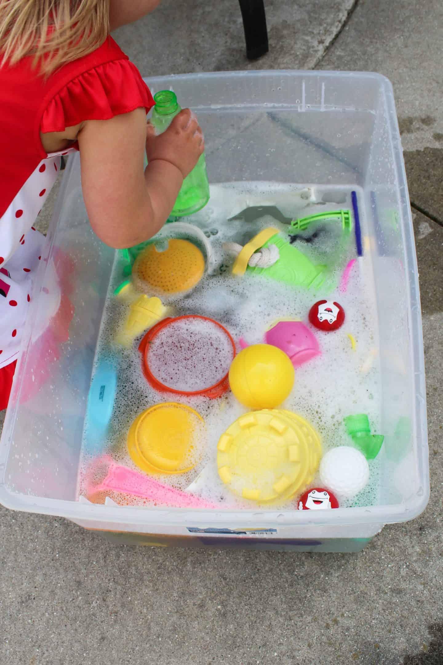 Preschool Water Activities