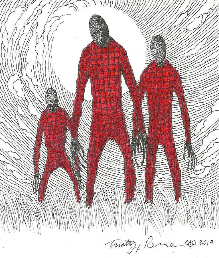 Flannel Man artwork by Timothy Renner.