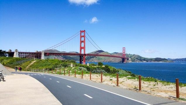 Golden Gate Bridge from the Presidio