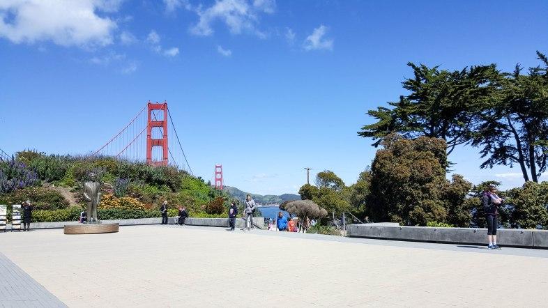 Golden Gate Bridge from Welcome Center