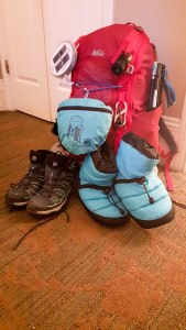 My pack! REI Trail 40L